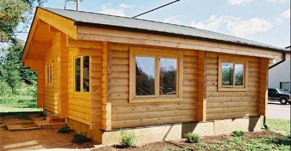 Small inexpensive log home kits are the smart way to build for Log home plans with cost to build